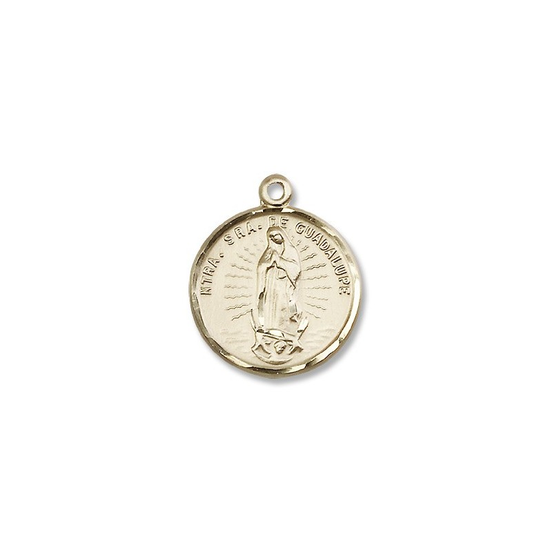 Gold filled ol of guadalupe pendant a m religious gifts church gold filled ol of guadalupe pendant mozeypictures Choice Image