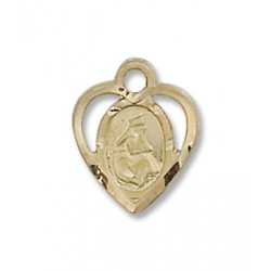 Gold Filled O/L of La Salette Pendant