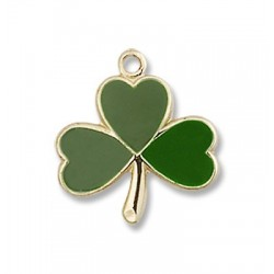 Gold Filled Shamrock Pendant