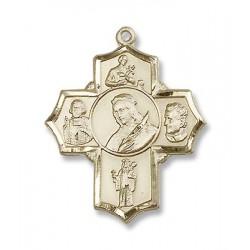 Gold Filled Philomena/Vian/Bos/Jude/Ger Pendant