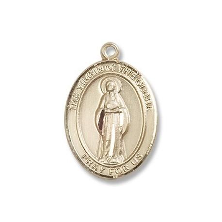 14K Gold Virgin of the Globe Medal