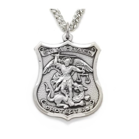 main men macy s mens pendant fpx diamond product st in shop michael image steel necklace stainless