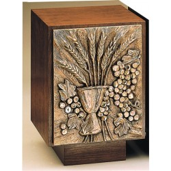 Tabernacle - Grapes and Wheat Bronze Walnut Combination