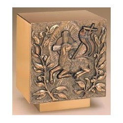 Tabernacle - Lamb of God Bronze Bas Relief