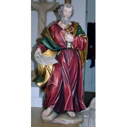 St. Peter - Woodcarved
