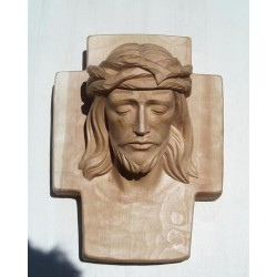 Head of Christ - Woodcarved
