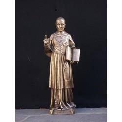 St. Charles Borromeo - Cast Bronze