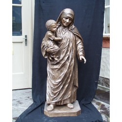 Mother Teresa - Cast Bronze