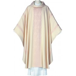Chasuble-Crucis, cowl