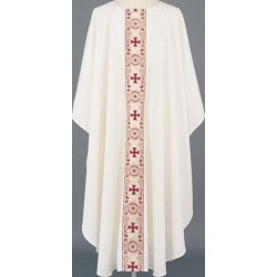 Banded Cross Vestment