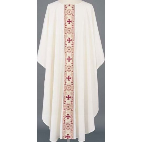 Banded Cross Vestment