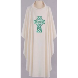 Embroidered Celtic Vestment