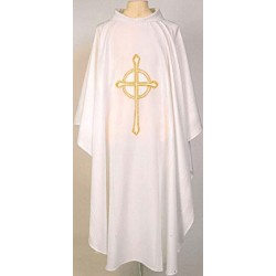 Embroidered Cross Vestment
