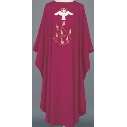 Multi Swiss Embroidered Vestment