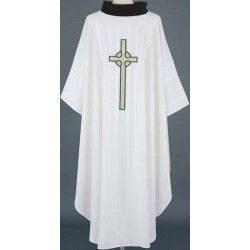 Cross Applique Vestment