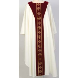 Gold Embroidered Velvet Vestment