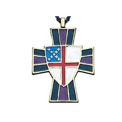 Episcopal Shield Pendant