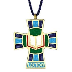 Lector or Reader Pendant