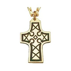 Celtic Gold Plated Cross