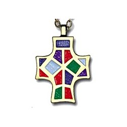 Monogram of Christ Pendant