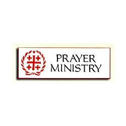Prayer Ministry Badge