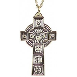 High Celtic Cross Pendant