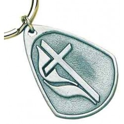 United Methodist Symbol Key Tag