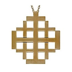 Jerusalem Pectoral Cross