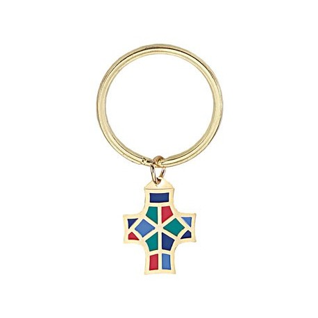 Monogram Of Christ Key Ring Am Religious Gifts