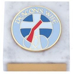 Deacon's Wife Paperweight