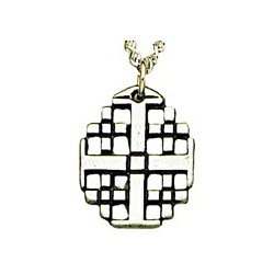 Jerusalem Cross - Sterling Silver