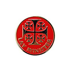 Lay Minister Pin