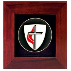 United Methodist Cross Frame