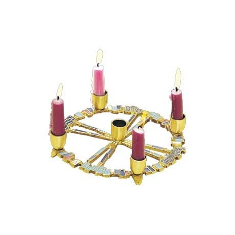 A Light Shines Advent Wreath for Home