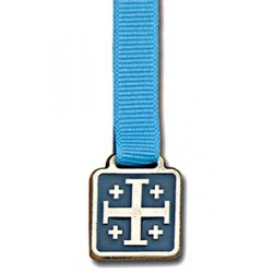 "1"" Jerusalem Cross Bookmark"