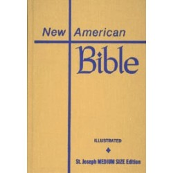St. Joseph New American Bible (Student Edition - Medium Size)