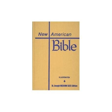 St. Joseph New American Bible (Student Edition - Medium Size)