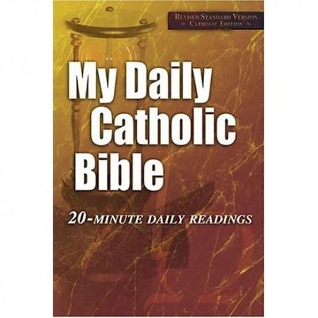 My Daily Catholic Bible Paperback
