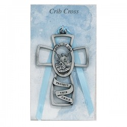 Guardian Angel Crib Cross - Boy