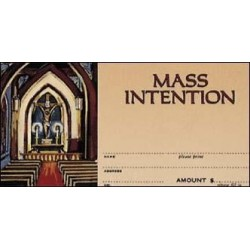 Mass Intention Offering Envelope