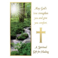A Spiritual Gift for Healing Mass Card