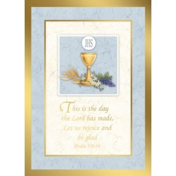 Psalm 118:24 Mass Card