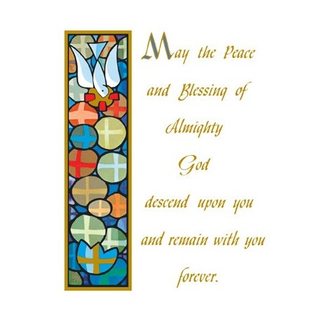 Peace of GodLiving Mass Card
