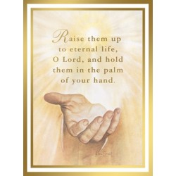 In the Palm of His Hand Mass Card