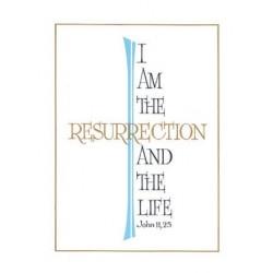I am the Resurrection Mass Card