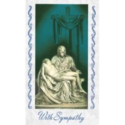 The Pieta Mass Card
