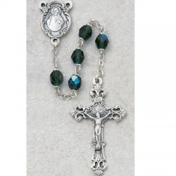 6mm Emerald/May Rosary