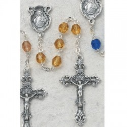 6mm Topaz/November Rosary