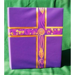 Liturgical Binder Royal Purple w/Gold
