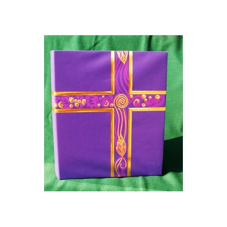 Liturgical Binder Royal Purple w/Gold